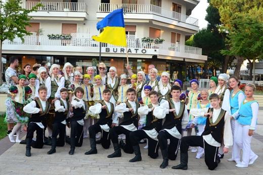 Юные одесситы стали победителями на фольклорном фестивале в Италии
